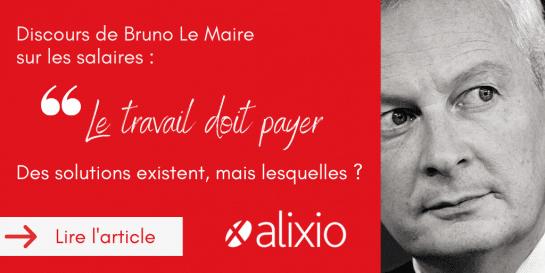 """Bruno Le Maire sur les salaires : """"le travail doit payer"""" – Des solutions existent, mais lesquelles ?"""